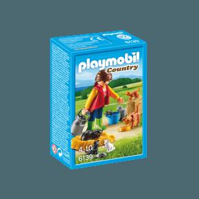 Kvinde med kattefamilie (6139) - Playmobil