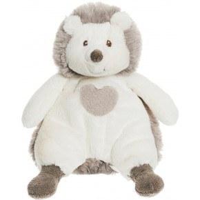 Teddykompaniet Teddy Cream, Pindsvin bamse - 18 cm.
