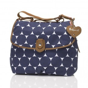 Babymel Satchel Jumbo Dot - Navy