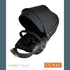 STOKKE Stokke Stroller Seat Complete - Sort Tilbehør til klapvogn