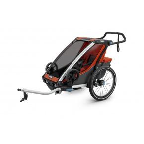 Thule Chariot Cross1 Roarange/Dark Shadow Cykelanhænger
