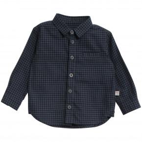 Wheat Kristian LS skjorte baby - navy