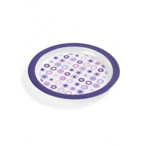 Smallstuff Circle Star Tallerken - Lavendel Stjerne