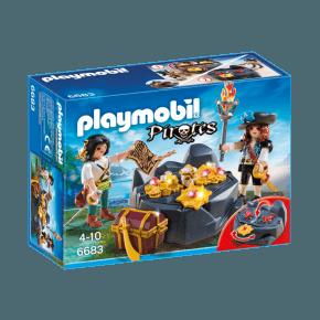 Pirat skjulested (6683) - Playmobil