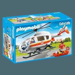 Redningshelikopter (6686) - Playmobil