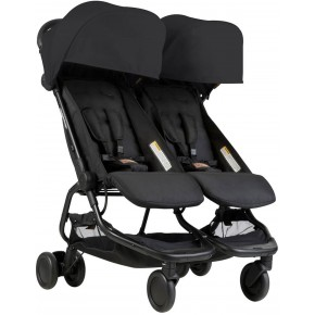 Mountain Buggy Klapvogn - Nano Duo, Sort