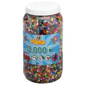 farver mix 68, 13.000 stk. - Hama Midi
