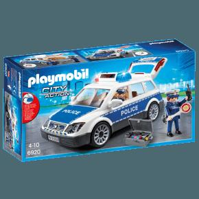 Politibil med lyd og lys (6920) - Playmobil
