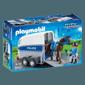 Politi med heste (6922) - Playmobil