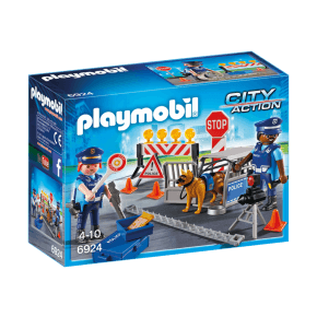 Politivejspærring (6924) - Playmobil
