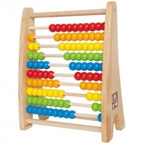 Hape Kugleramme Rainbow Bead Abacus