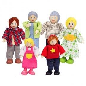 HAPE Dukkefamilie - kaukasisk
