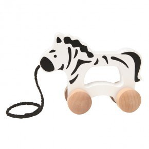 HAPE Push & Pull Zebra Trækdyr