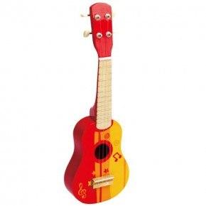 Hape Guitar - rød