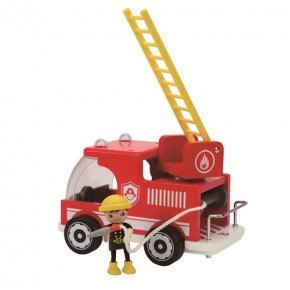 HAPE fire truck Træfigur