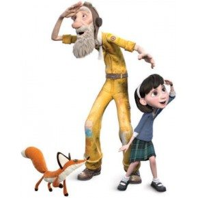 Little girl aviator and fox exp. - Hape Legetøj