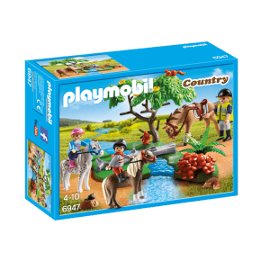 Ridetur på landet (6947) - Playmobil
