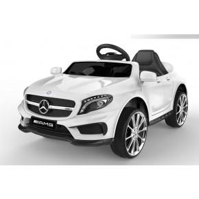 Ride Ons Mercedes AMG GLA45 - hvid med fjernbetjening