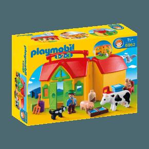 Bondegårds kuffert (6962) - Playmobil 1.2.3