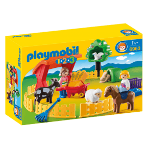 Børnezoo (6963) - Playmobil 1.2.3