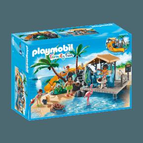Tropisk ø med Juicebar (6979) - Playmobil