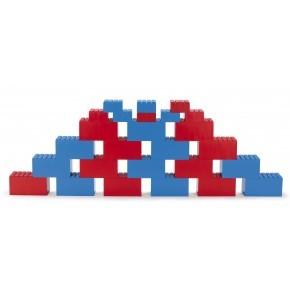 Dantoy byggeklodser 26 stk - Rød/blå