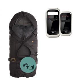 Neonate BC4600D Babyalarm + Sleepbag Mini Sort/Grå