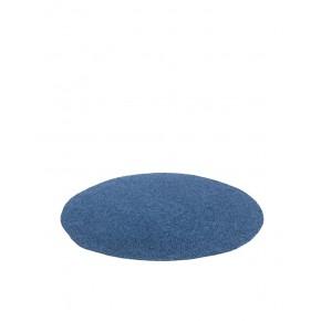 Denim håndhæklet tæppe fra Smallstuff