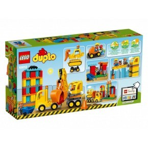 LEGO DUPLO - Stor Byggeplads - 10813