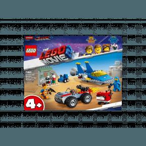 LEGO The LEGO Movie Emmet og Bennys værksted 70821