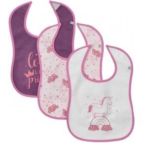 Pippi Hagesmækker 3-pak - Lady Pink