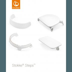 Stokke Steps Chair Seat - Hvid