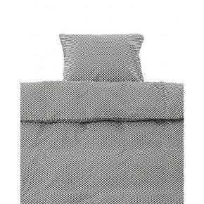 Smallstuff junior sengetøj - black square - 100x140 cm.