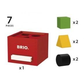 BRIO Puttekasse - Rød