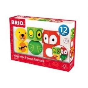BRIO - Magnetiske klodsdyr