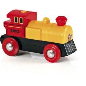 BRIO Tovejs lokomotiv, batteridrevet Legetøj