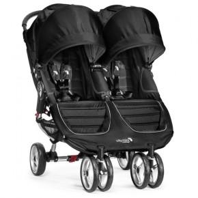 Baby Jogger City Mini Double - Black/grey