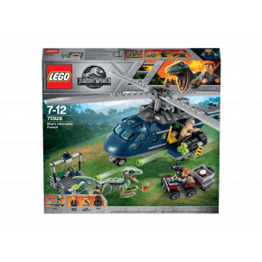 LEGO Jurassic World, Blues helikopterjagt - 75928