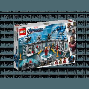 LEGO Super Heroes Iron Mans Dragtgalleri - 76125