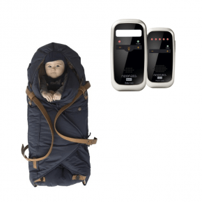 Neonate BC4600D Babyalarm + Sleepbag - Midnight Petrol