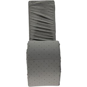 Småfolk Sengerand med minimultiæbler - Steel Grey