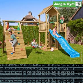 Jungle Gym Legetårn - Mansion med klatremodul