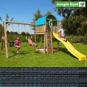Jungle Gym Legetårn - Villa med gyngemodul