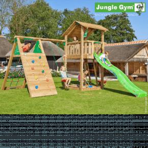 Jungle Gym Legetårn - Shelter med klatremodul