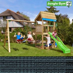 Jungle Gym Legetårn - Home med gyngemodul
