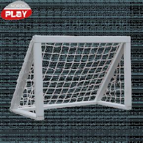 Nordic Play Fodboldmål - Hvid 127 x 65 x 86 cm Udeleg