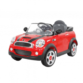 Rollplay Mini Cooper S Coupe Elbil - Rød