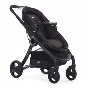 Urban stroller PLUS Crossover, Black Klapvogn