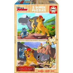 The Lion Guard puslespil (2x50) - Educa