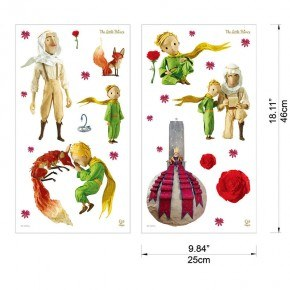 The little prince Wall stickers - Hape
